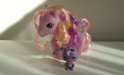 G3 Fluttershy with Bunnny LPS