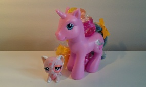 G3 Rarity with Pink Persian Cat LPS