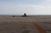 View of Black Beacon from Bomb Ballistics Building