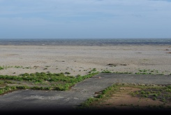 View out to sea from Bomb Ballistics Building